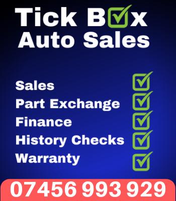 TICK BOX AUTO SALES - 07456 993 929